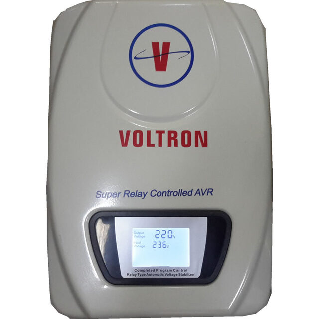 VOLTRON 6KVA WALL MOUNT RELAY STABLIZER N45,000